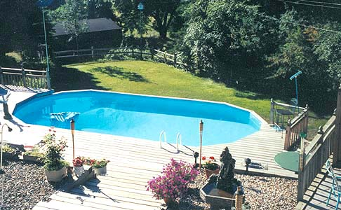 Doughboy Pool Above Ground Installers For The San